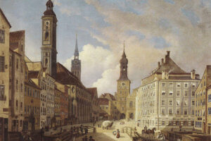 AK - München Tal um 1835