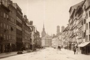 AK - München Tal um 1890