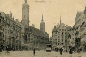 AK - München Tal um 1911