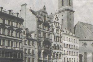 Hotel Schlicker Fassade vor dem Krieg