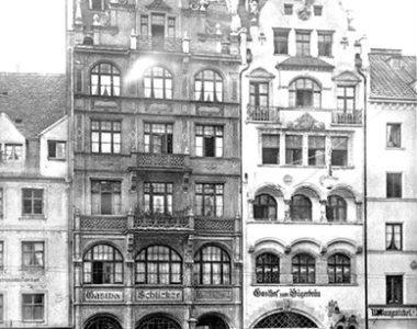 Hotel Schlicker um 1898
